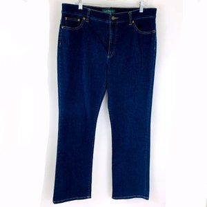 Ralph Lauren HERITAGE Ankle High Rise  Jeans 16